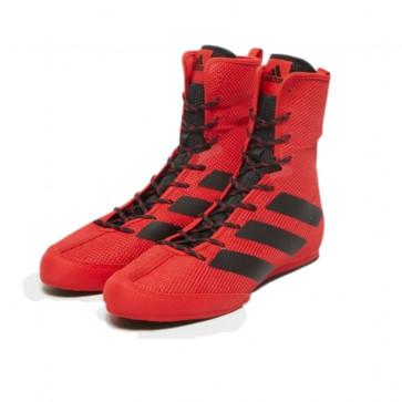 Stivaletti da Boxe Adidas Box Hog 3 Rosso Nero