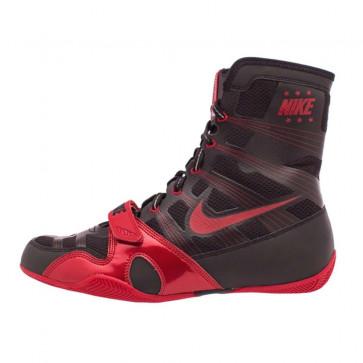 Stivaletti da boxe Nike Hyperko Nero-Rosso