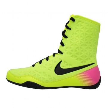 Stivaletti da boxe Nike KO Giallo-Nero