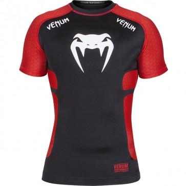 T-shirt a Compressione Venum Absolute Nero/Rosso