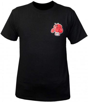 T-shirt Cleto Reyes Champy Nera con logo - davanti