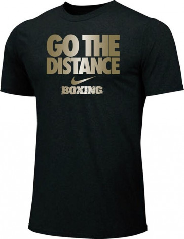 T-shirt Nike Training Go The Distance BXGD Nero