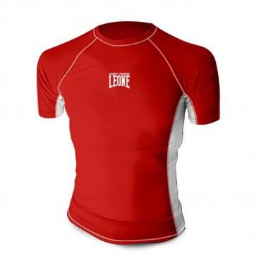 T-shirt Tecnica Rashguard MMA Leone AB781 Rosso
