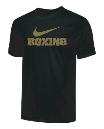 T-shirt Nike Training Boxing BX70 Nero