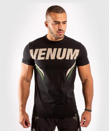 T-shirt Venum ONE FC Impact Khaki-nero