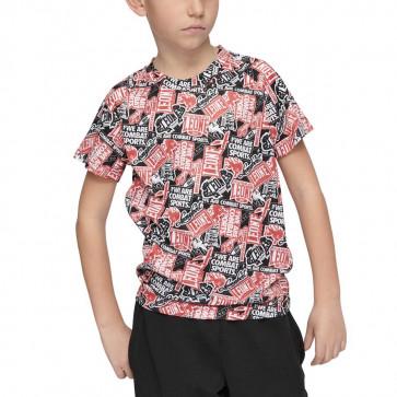 T-shirt bambino Leone Patch ABJ16
