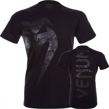 T-Shirt in Cotone Venum Giant Matte Nero