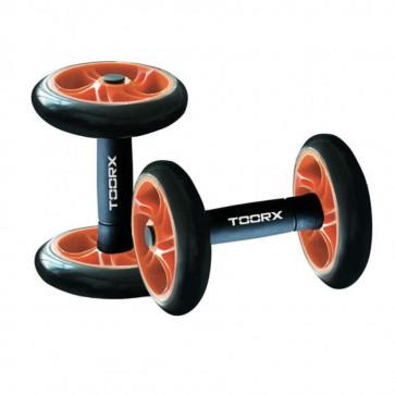 Manubri Toorx con ruote per addominali