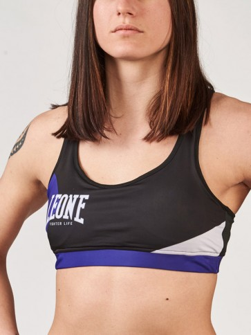 Top donna Leone Fighter Life AB282