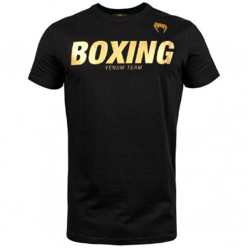 T-shirt Venum Boxing VT Nero-Oro