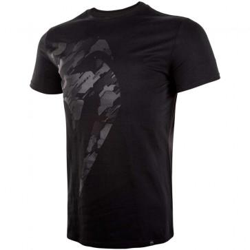 T-shirt Venum Giant Tecmo Nero-Nero - Davanti
