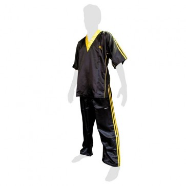 Uniforme da kick boxing Adidas Nero-Giallo