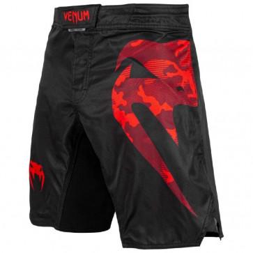 Pantaloncini MMA Venum Light 3.0 NERO-ROSSO CAMO