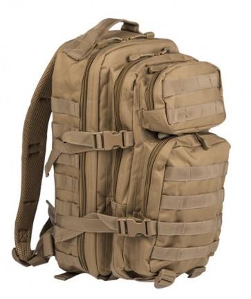 Zaino Beige Coyote US Assault Small Mil-Tec