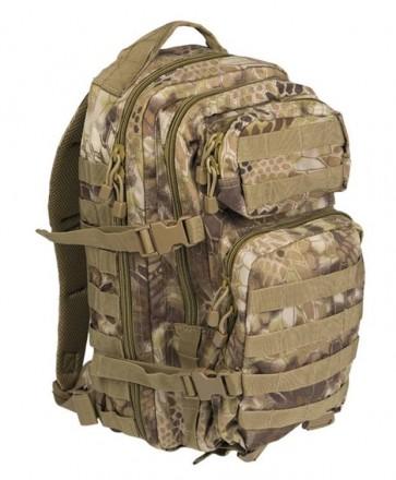 Zaino Verde Mandra Tan US Assault Grande 51x29x28 cm Mil-Tec