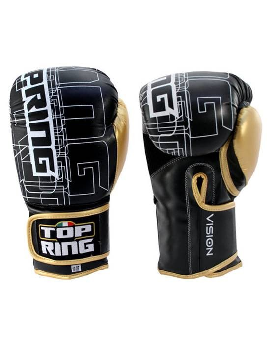 310 Guantoni 10 Oz Top Ring Boxe Kick Boxing Vision Art