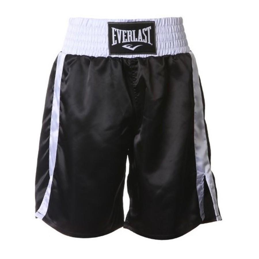 Pantaloncini da boxe Everlast Pro boxing Nero a65245ce033e