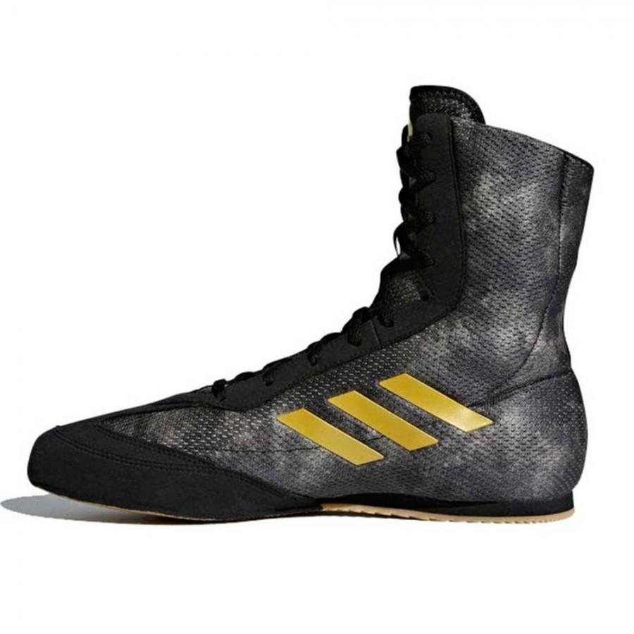 newest d414c 8b60a Scarpe da boxe Adidas Box Hog Plus lato