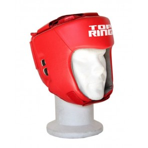 Caschetto Boxe Match Dilettanti Top Ring Art. 332A ROSSO