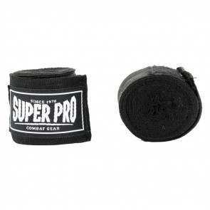 Bendaggi Super Pro Semi-elastici 4,5 mt - Nero