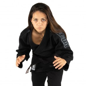 BJJ Gi donna Tatami Fightwear Comp SRS Lightweight 2.0 nero