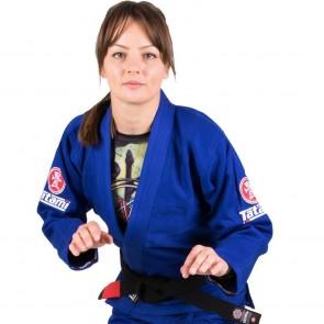 BJJ Gi donna Tatami Fightwear Nova Minimo 2.0 blu
