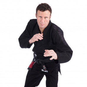 BJJ Gi Tatami Fightwear Essential Nero