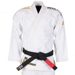 BJJ Gi Tatami Fightwear White Mech Warrior bianco