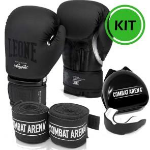 Kit Boxe Leone Black