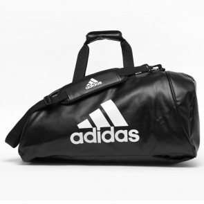 Borsa zaino Adidas Training 2 in 1 Combat in PU bianco