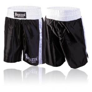 Pantaloncini da boxe Boxeur Des Rues Classic BX-1167K Nero