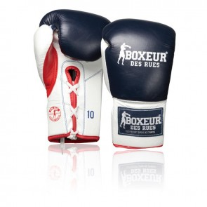 Guantoni Boxeur Des Rues Competition BX-503X Blu