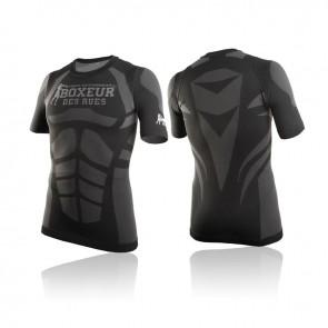T-shirt a compressione Boxeur Des Rues BXT-2725 Nero