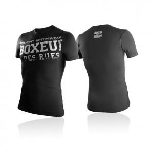 T-shirt a compressione Boxeur Des Rues Classic BXT-2727 Nero