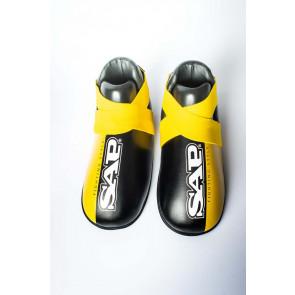 Calzari parapiedi SAP Raptor 2.0 da Kick Boxing - Nero-giallo