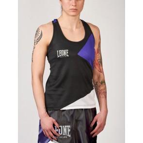 Canotta boxe donna Leone Fighter Life AB280 Retro