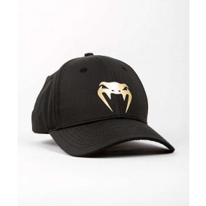 Cappellino Venum Club 182 Nero-Oro: visione frontale