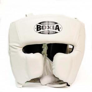 Casco Boxia Challenge Bianco con Parazigomi