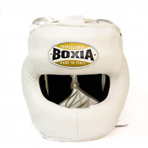 Casco Boxia Superamerica Bianco con Barra