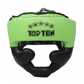 Casco Top Ten Eco R2M Line Neon Verde