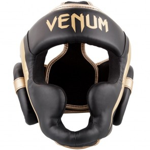 Casco Venum Elite Gold