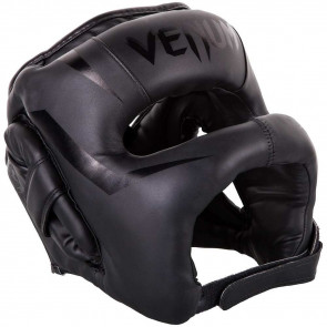 Casco Venum Elite Iron Nero-nero