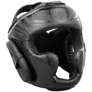 Casco Venum Gladiator 3.0 con parazigomi nero-nero