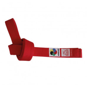 Cintura Sparta Kappa WKF Rosso
