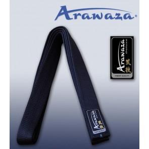 Cintura nera Arawaza satin