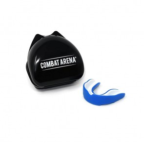 Paradenti Combat Arena Gel Protection Blu-bianco