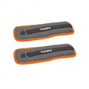 Coppia polsiere cavigliere zavorrate Toorx 1 kg