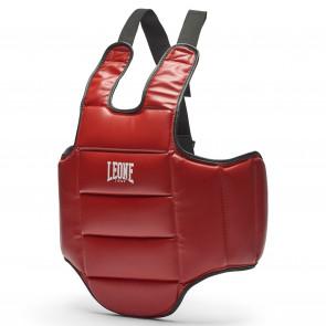 Corpetto Reversibile Leone PR336 rosso lato