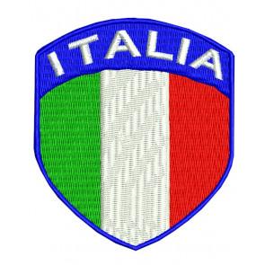 Toppa bandiera italiana