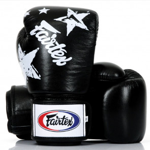 Guantoni Fairtex Nation Prints Star Universal nero